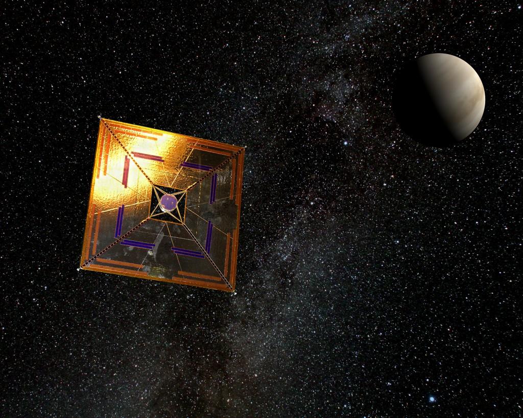 IKAROS solar sail - Andrzej Mirecki